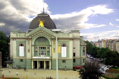 Außenansicht Theater / Outside view of the theatre