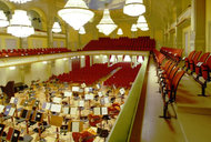 Blick in den Konzertsaal / View into the concert hall