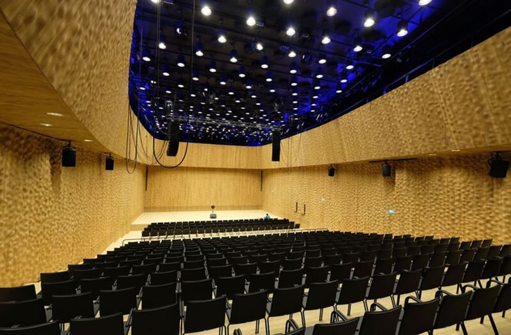 Blick in Kleinen Saal / View in small hall  © Nagata Acoustics Ass.