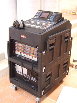 mobile Technik / mobile audio rack