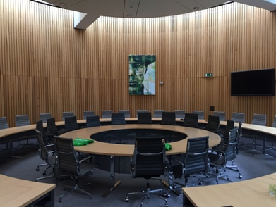 Fraktionssaal der Grünen / conference room for the green party