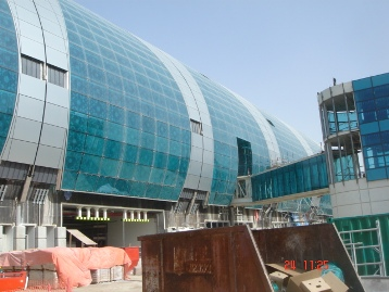 Terminal C2 in Bau / Terminal C2 in Construction