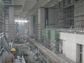 Großes Foyer in Bau / Large lobby in construction