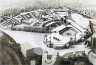 2009 Publikation der neuen Haram Erweiterung / Publikation of the planned extension of the mosque