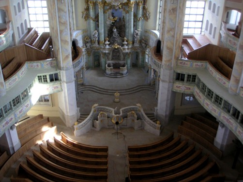 2005 Akustische Messungen in der Kirche / acoustic measurements in the church