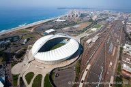 Stadion in der Stadt Durban / Stadium in Durban city