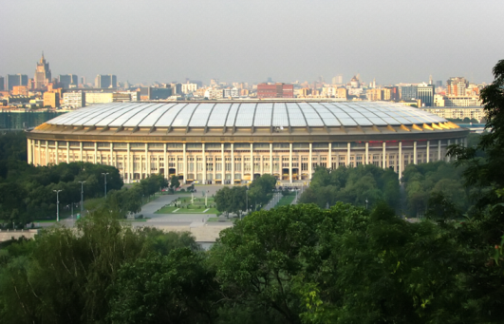 World Cup Stadia in Russland