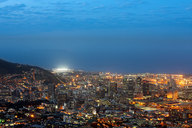 Blick auf Kapstadt mit Stadium /View on cape Town with stadium © Marcus Bredt